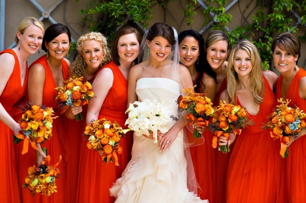 abb980be6613 Red Orange And Yellow Bridesmaid Dresses - Photo Dress Wallpaper HD AOrg