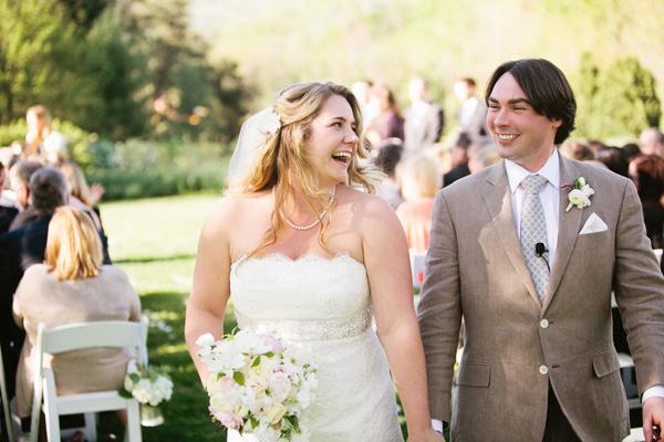 Scallop Strapless Wedding Gown
