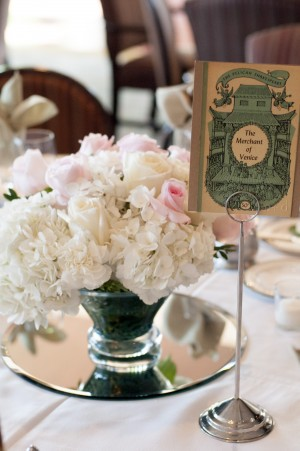 Shakespeare Reception Table Card