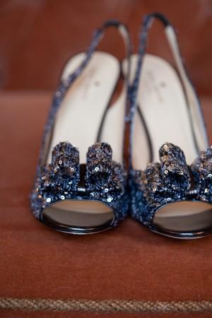 Sparkling Kare Spade Bridal Heels