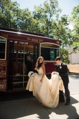 Streetcar Wedding Photos
