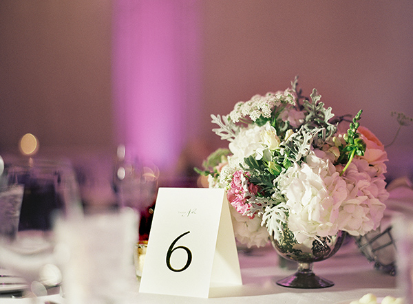 Tent Table Number Cards