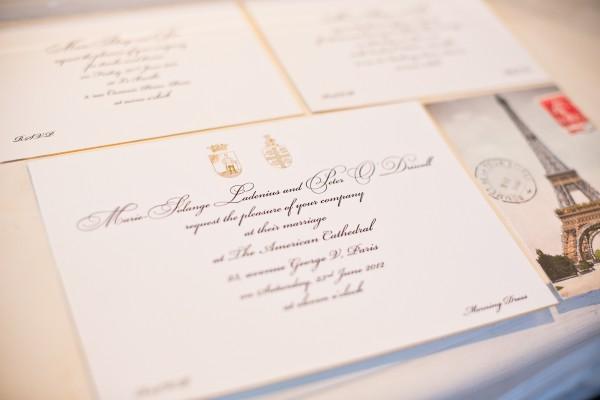 Traditional Formal Wedding Invitation