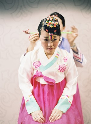 Traditional Korean Mother of the Bride Dress