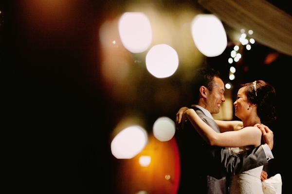Twinkle Lights Over Dance Floor