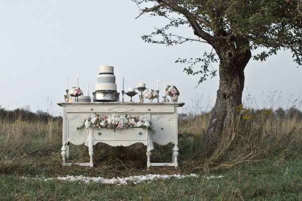 Vintage Dessert Table