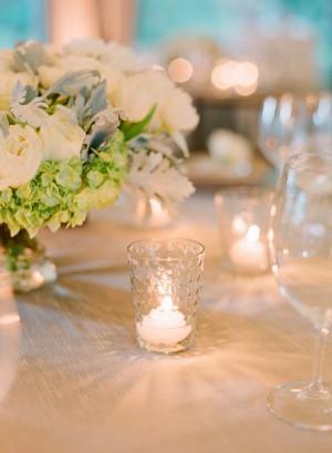 Votive Candle Wedding Decor