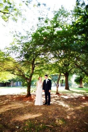 Wedding Couple Portrait Kate Rose Photography 1