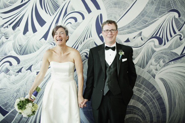 Wedding Couple Portrait by Michele M
