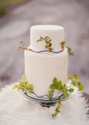 Wild Wedding Cake