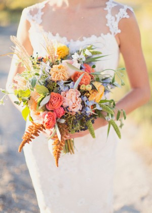 Wild and Natural Wedding Bouquet