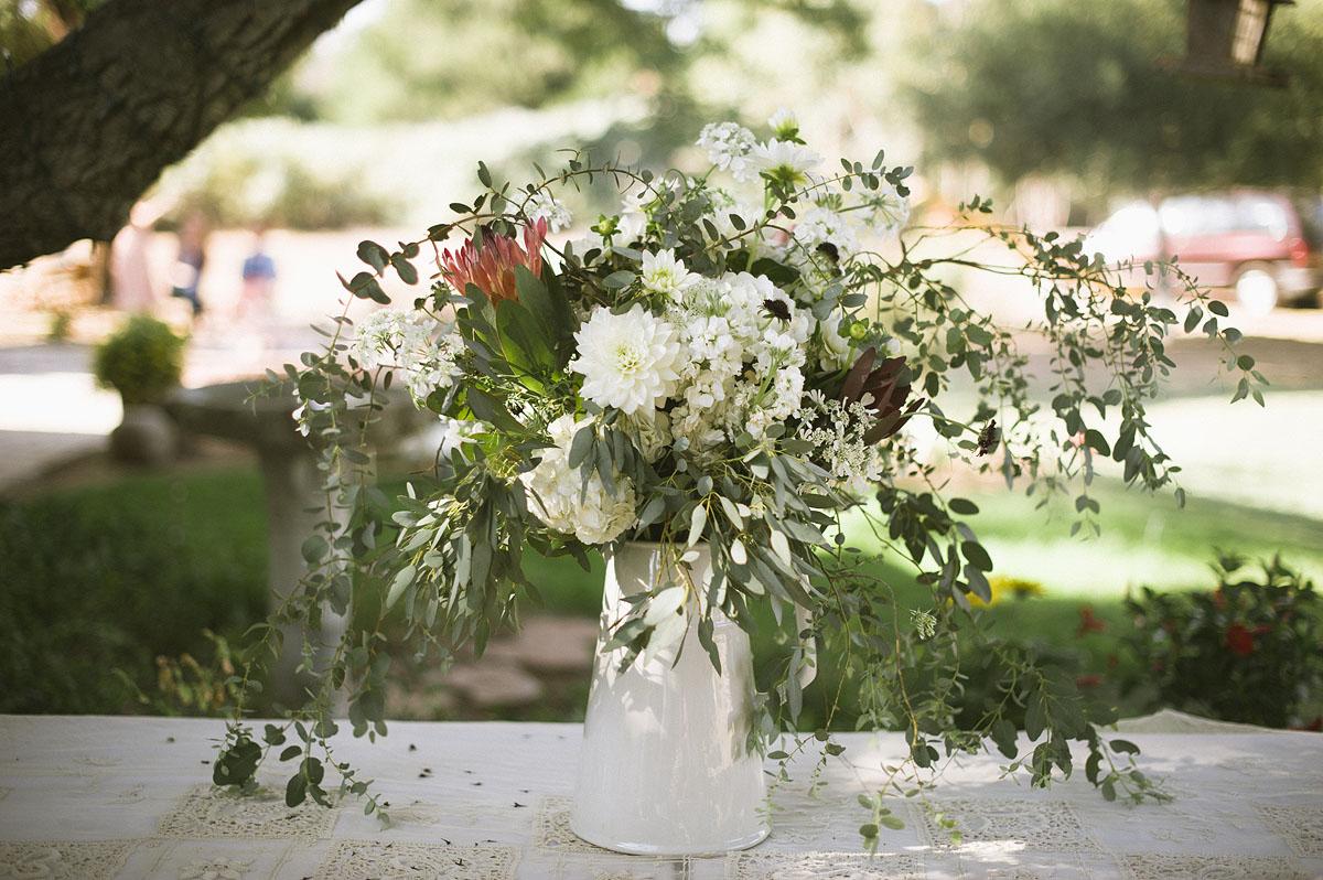 Superior Wildflower Arrangement In White Metal Pitcher   Elizabeth Anne Designs: The  Wedding Blog