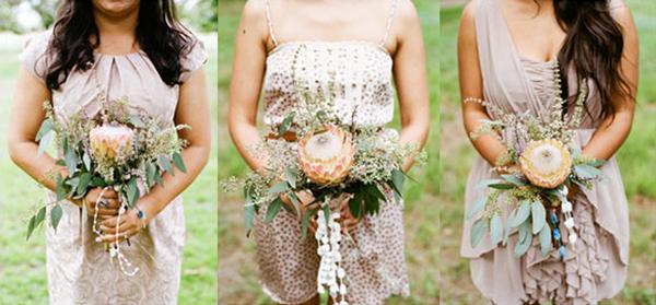 southern california ranch wedding bridesmaids