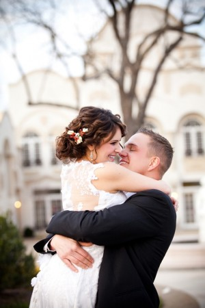 Bride and Groom Wedding Portrait by Genevieve Leiper Photography 1