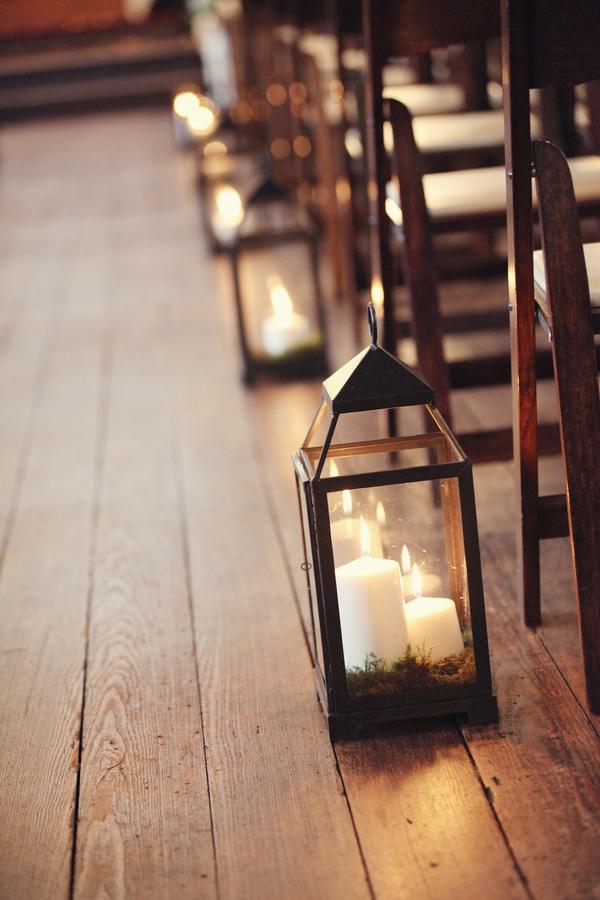 Candle Lanterns Ceremony Decor