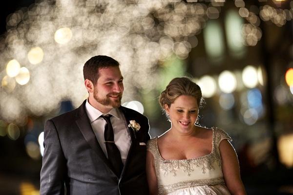 Cap Sleeve Empire Waist Bridal Gown