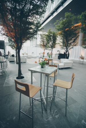 Contemporary Reception Cocktail Tables