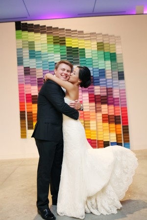 Couples Art Museum Portrait From Whitebox Weddings