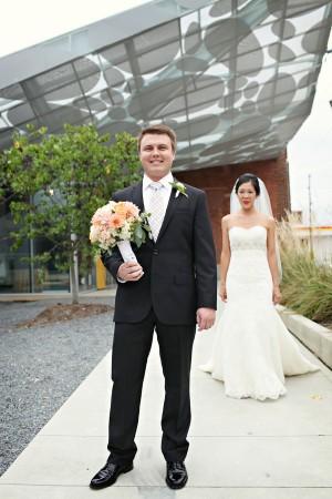 Couples Portrait Outside Museum