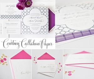 Courtney Callahan Paper Logo Collage