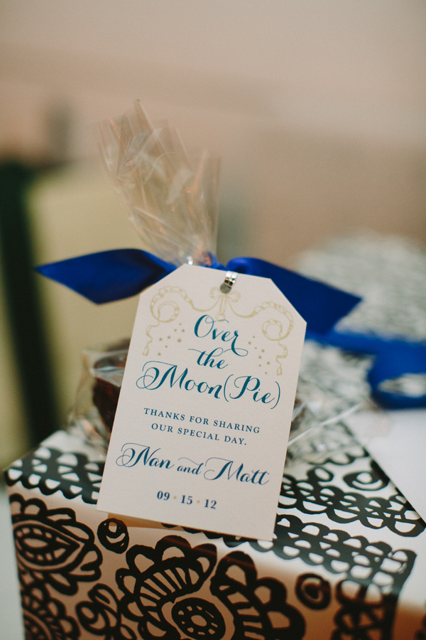 Custom Moon Pie Wedding Favors