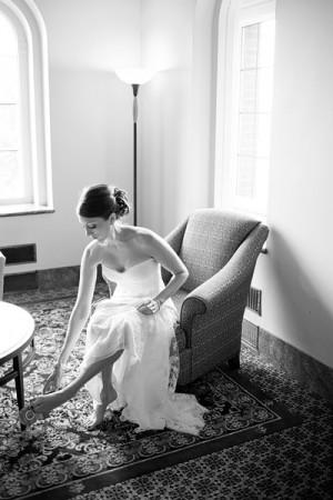 Elegant Black and White Bridal Portraits Harrison Studio 1