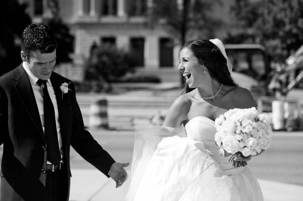 Elegant Black and White Wedding Portraits Turtlepond