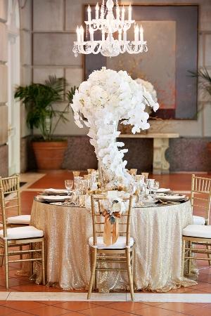 Elegant Orchid Centerpiece