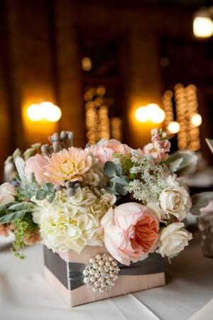 Elegant Pastel Wedding Centerpiece