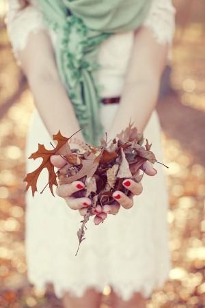 Fall Wedding Engagement Shoot