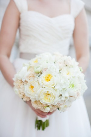 Fluffy White Bouquet
