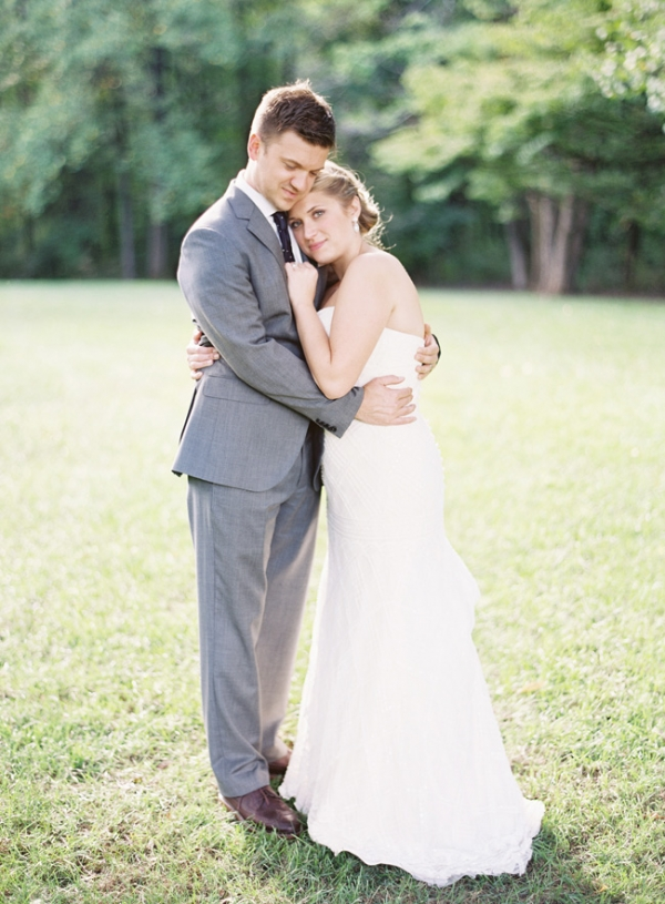 Bride and Groom Portrait by Clary Photo