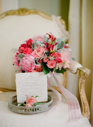 Green and Pink Tone Bouquet 1