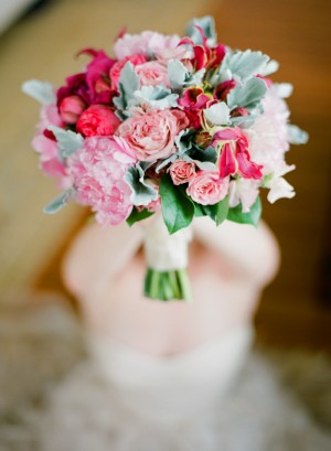 Green and Pink Tone Bouquet