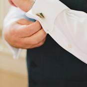 Grooms Cufflink Detail