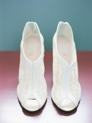Lace Bridal Ankle Booties