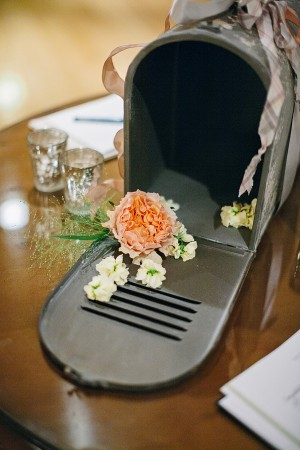 Mailbox for Wedding Guest Notes