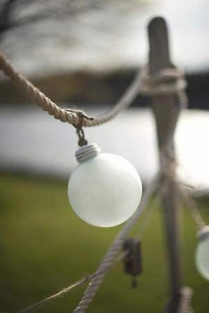 Ornament Hanging on Rope