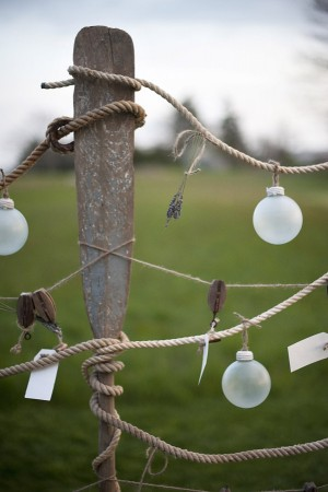 Ornaments Hanging on Rope