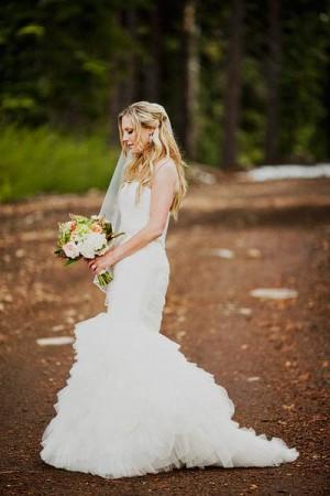 Outdoor Bridal Portrait Sloan Photographers