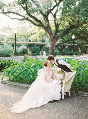 Outdoor Pastel Colored Wedding From Jen Huang 3
