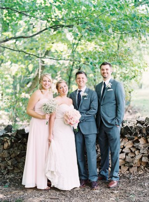 Pale Pink Bridesmaids Dress
