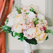Pale Rose and Hydrangea Bouquet