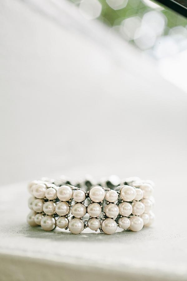 Pearl Cuff Bridal Jewelry