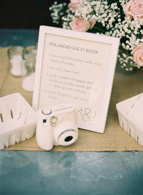 Polaroid Guest Book Idea