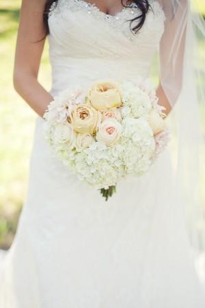 Pretty Rose and Hydrangea Bouquet