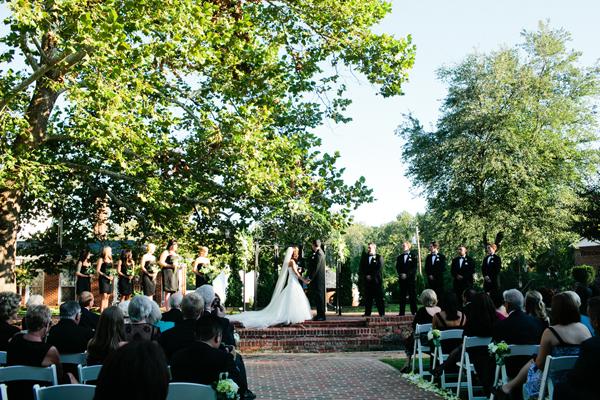 Richmond Mansion Outdoor Ceremony Venue
