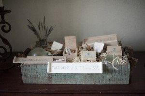 Sea Inspired Favor Display