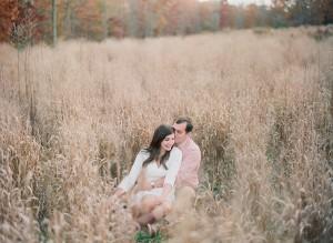 Sweet Fall Engagement Shoot by Melissa Schollaert Photography 13