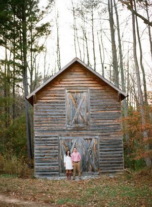 Sweet Fall Engagement Shoot by Melissa Schollaert Photography 15